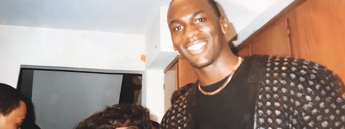 Michael Jordan and Angela Mims