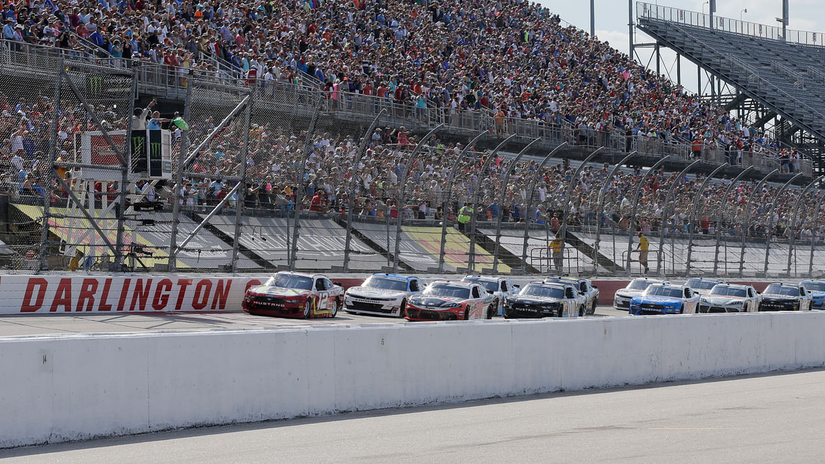 Bet NASCAR! Racing returns Sunday to Darlington with the Real Heroes 400 and the Eckel 3 offers up Truex, Logano and Hamlin