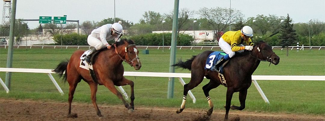 Horse Racing at Assiniboia Downs.