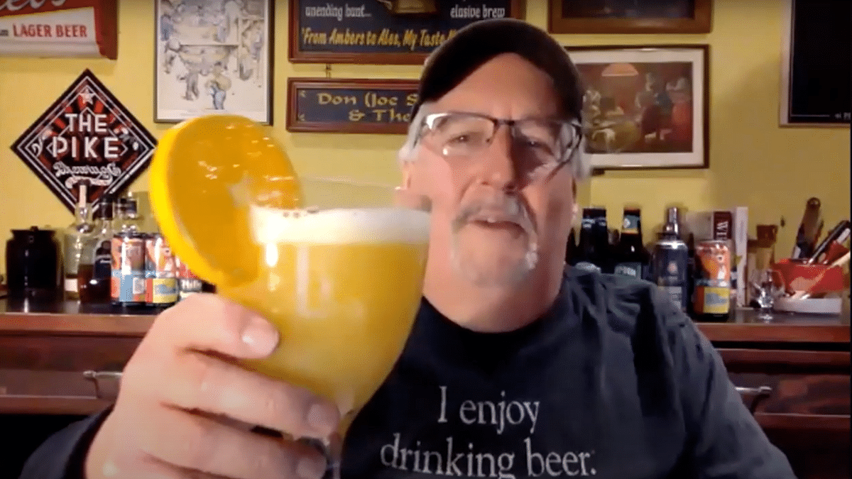 Joe Sixpack (Don Russell) in 'What's Brewing' episode# 1.7