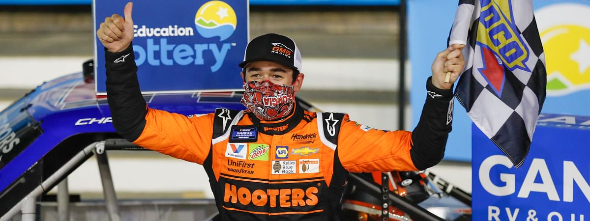 Chase Elliott is the Eckel 4's pick to win on the Daytona road course.