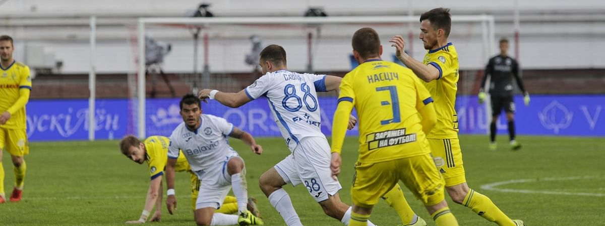 BATE Borisov and Dynamo Brest in action
