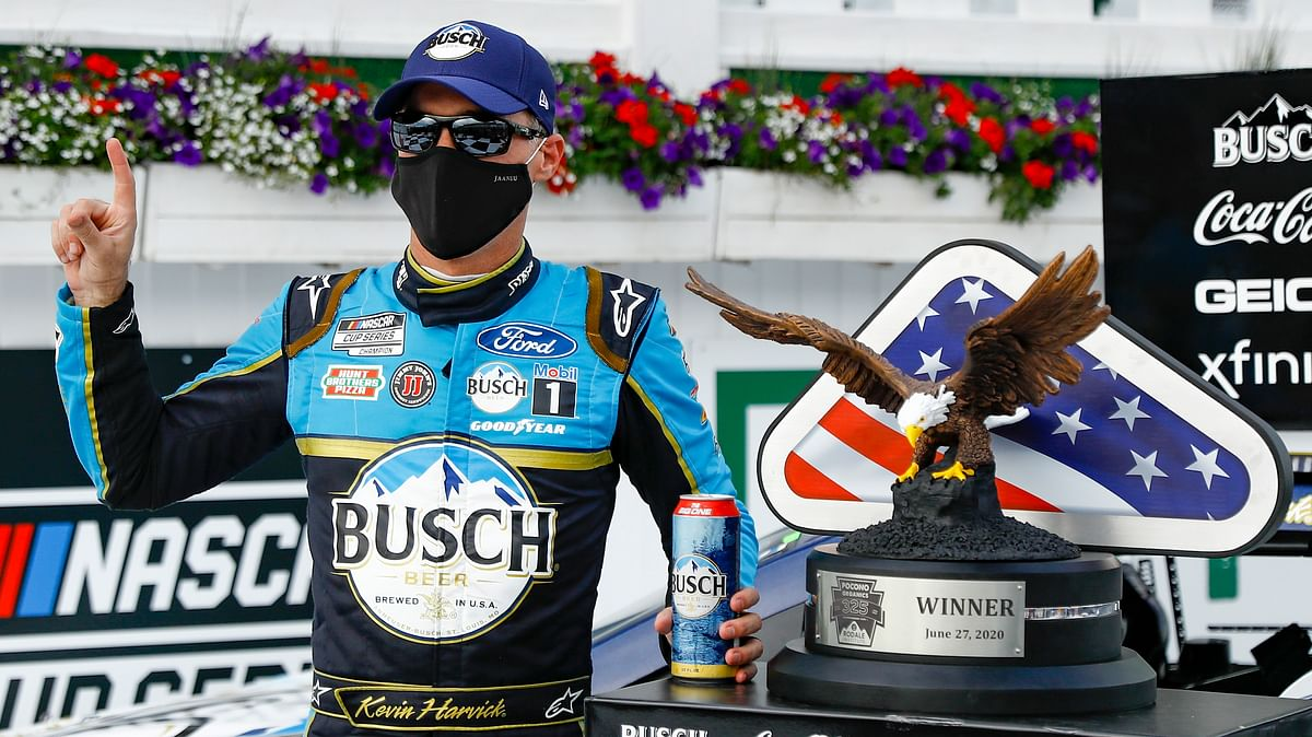 Bet Sunday NASCAR! Can Kevin Harvick repeat and left-turn two? The Eckel 3 + 1 (after picking 2-3-5-6 Saturday) handicap the Pocono 350