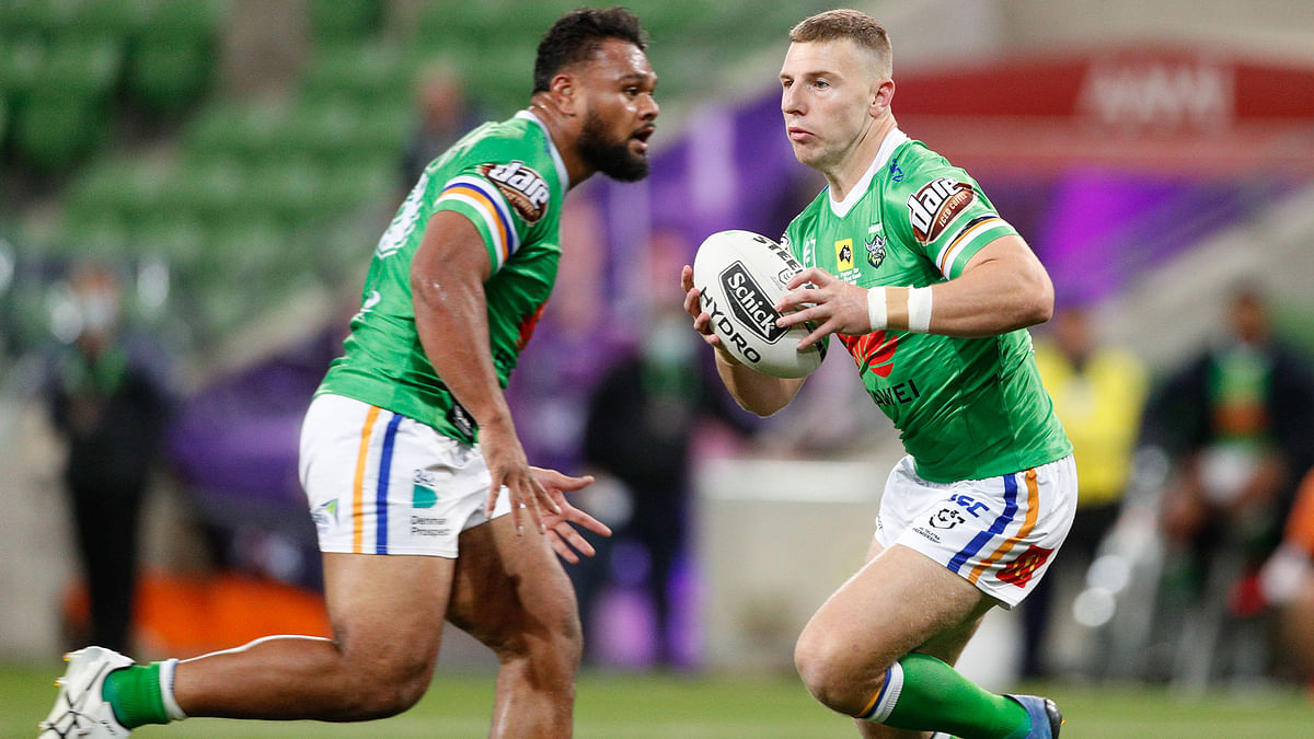 Bet Saturday NRL Rugby! Sean Miller has 5 plays for the Wests Tigers vs Canberra Raiders