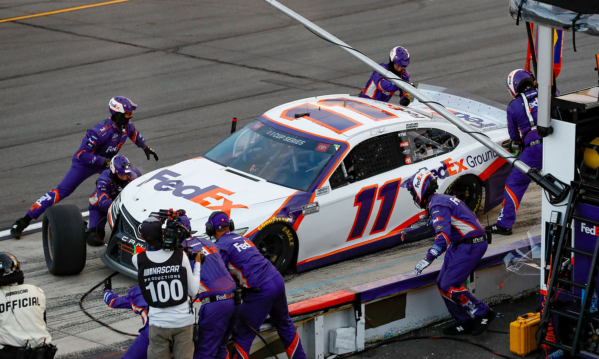 NASCAR News: Denny Hamlin caps marathon day of racing at Pocono Raceway with 4th win