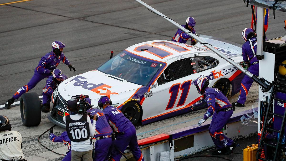 NASCAR News: Denny Hamlin caps marathon day of racing at Pocono Raceway with 4th win