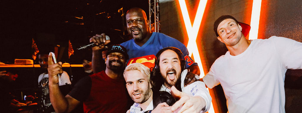 Shaq, Gronk, and friends