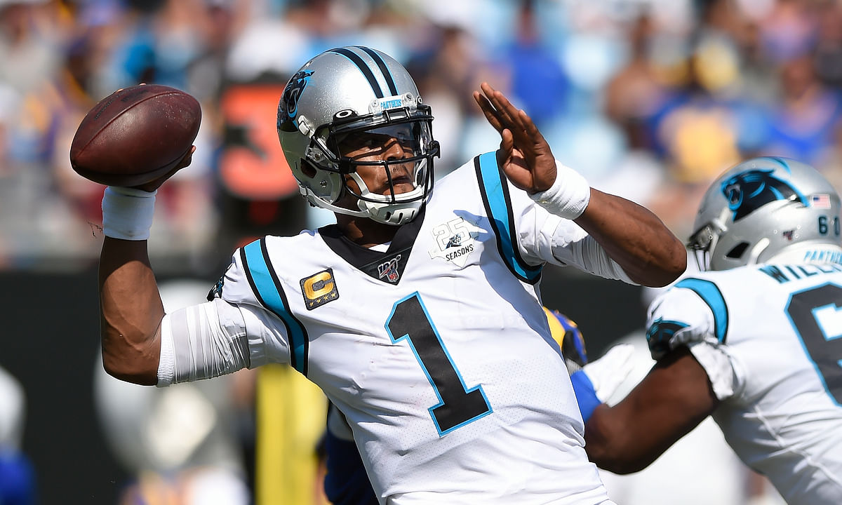 AP Source: New England Patriots sign QB Cam Newton to replace Tom Brady; how will Vegas react?