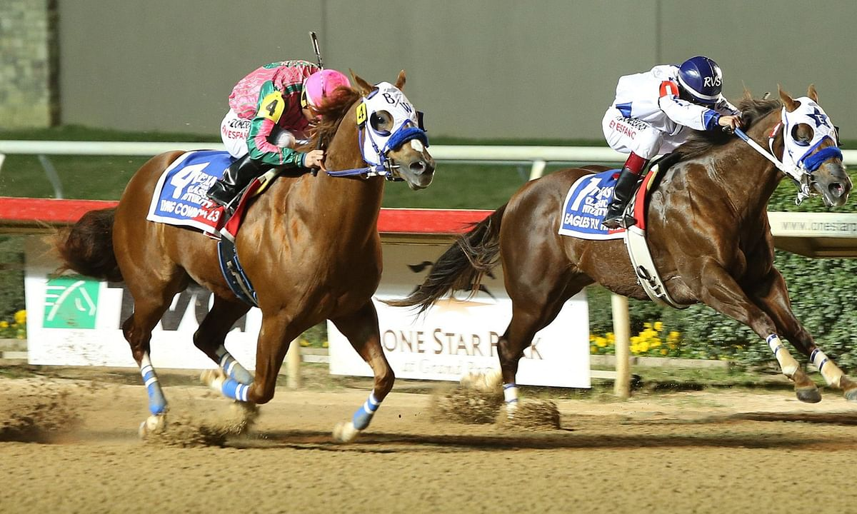 Sunday at the Track: RT picks 3 stakes races at Lone Star Park with the help of the SmartCap system