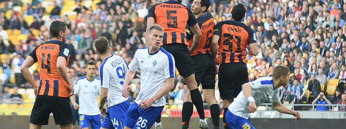 Dynamo Kyiv in action