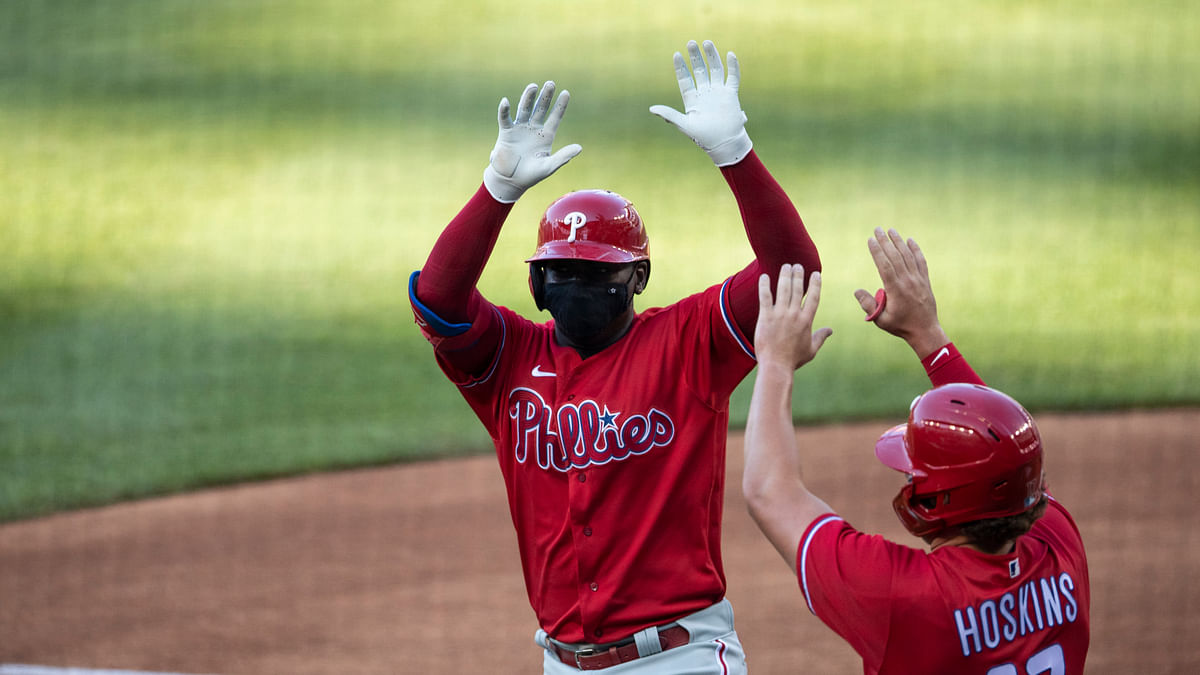 Phillies' Didi Gregorius homers off Washington ace Max Scherzer as MLB holds first COVID-era exhibitions