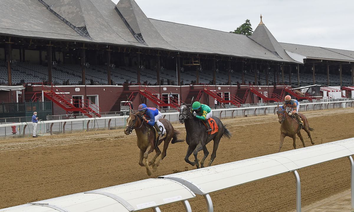 Racing at Saratoga.