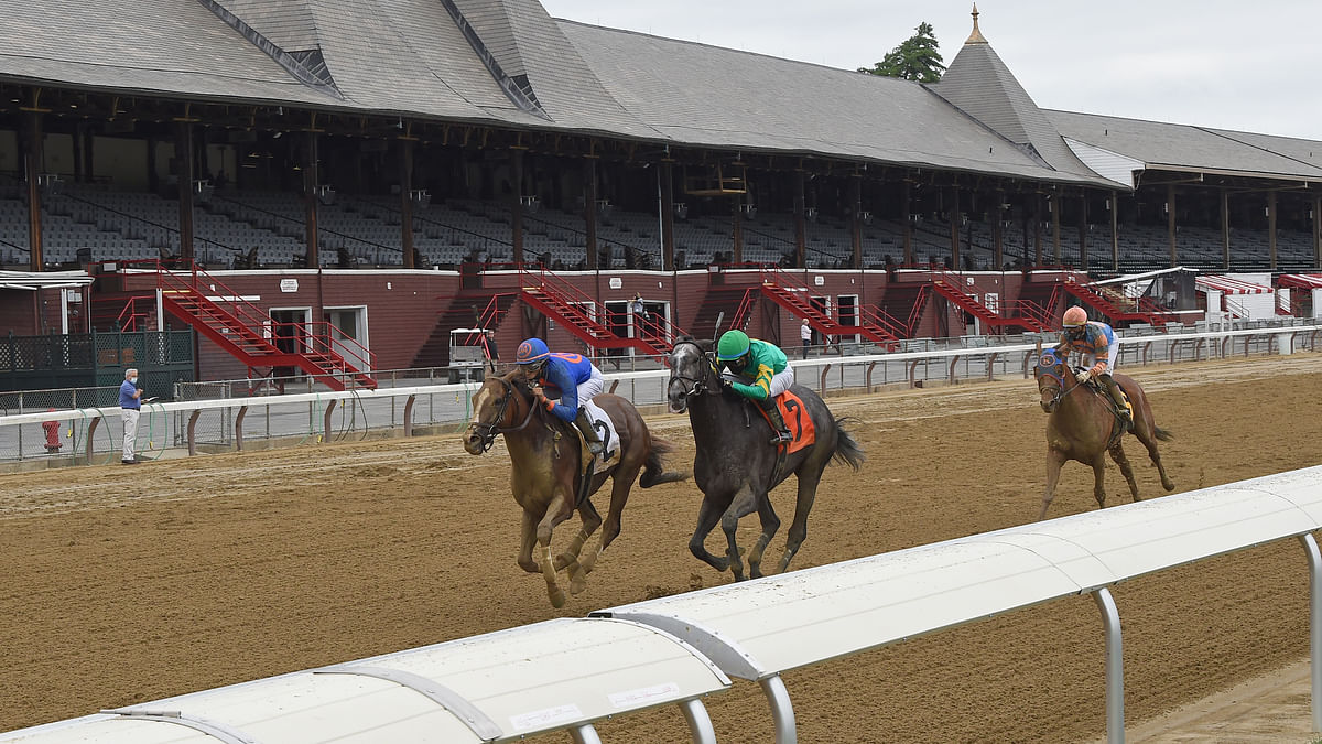 Bet Saratoga! Garrity picks four Wednesday races including the Dayatthespa Stakes, and rails against Colonial Downs increasing its takeout