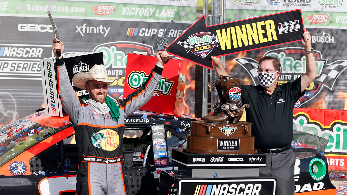 Austin Dillon leads 1-2 RCR finish in the O'Reilly Auto Parts 500 at Texas Motor Speedway