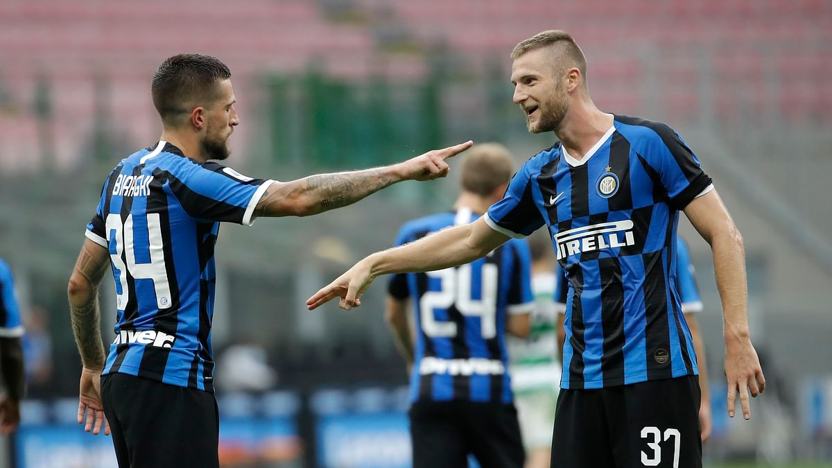 Inter tries to stay in the Serie A title race with victory Tuesday over Brescia —Miller has 3 picks to play