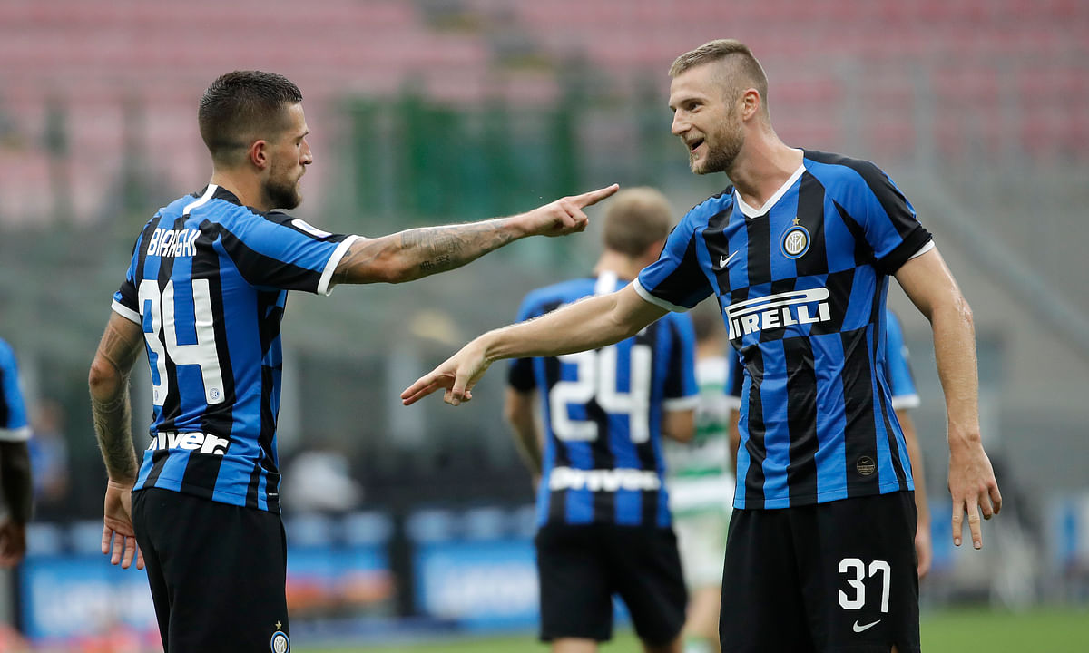 Inter tries to stay in the Serie A title race with victory Tuesday over Brescia — Miller has 3 picks to play