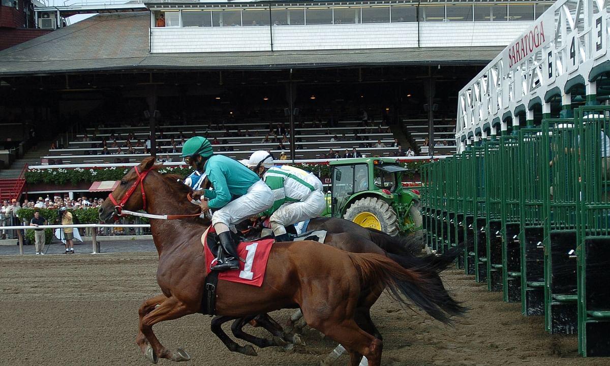 Racing at Saratoga