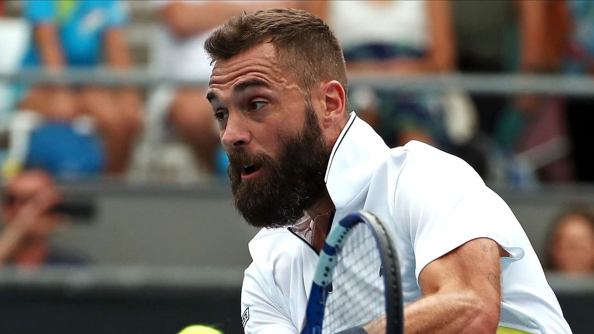 Benoit Paire out of U.S. Open after positive COVID-19 test, per AP source and French newspaper L'Equipe