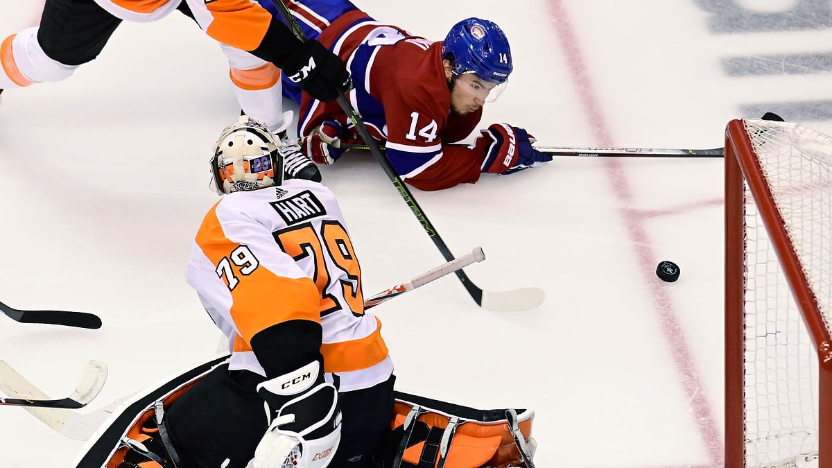 What can we expect out of Carter Hart and the Flyers' defense after shutting out the Canadiens Sunday night? Boop has NHL scoring prop bets