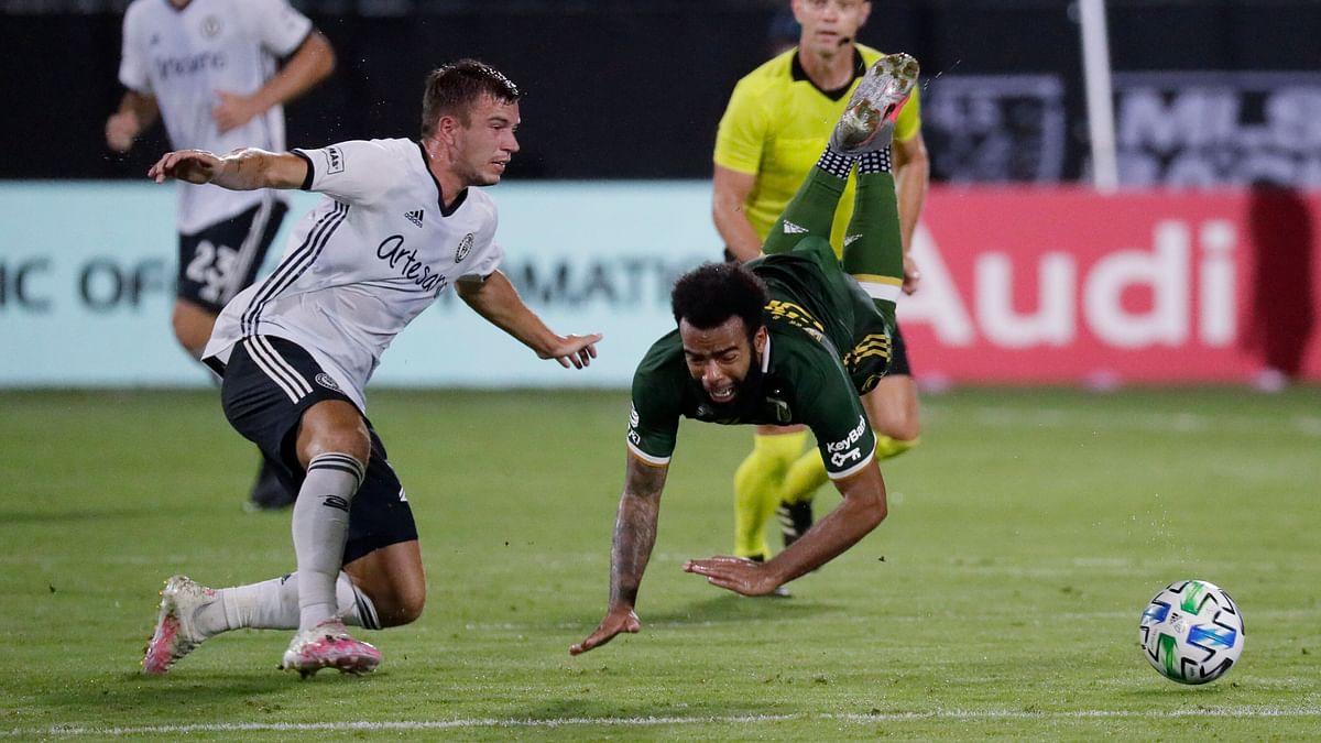 Portland Timbers beat Philadelphia Union 2-1 in MLS is Back semifinals