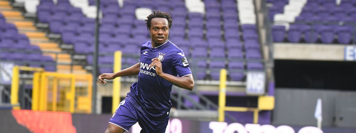 Percy Tau in action for Anderlecht