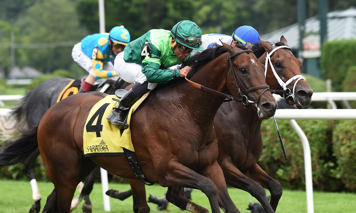 Raging Bull, winning the Hall of Fame Stakes in 2018, is Garrity's pick in the Fourstardave.