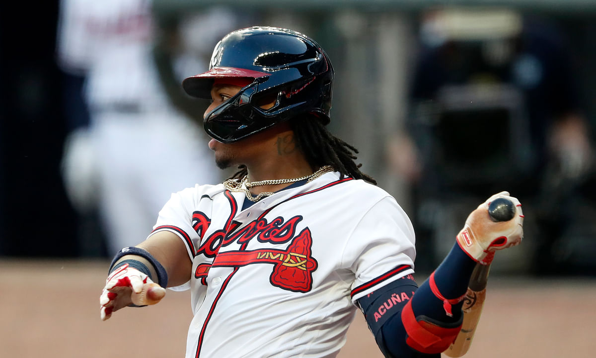 Eckel's Saturday Baseball Picks: Braves vs Phillies, Angels vs Rangers, Rockies vs Mariners, with Acuna and Rendon to go deep