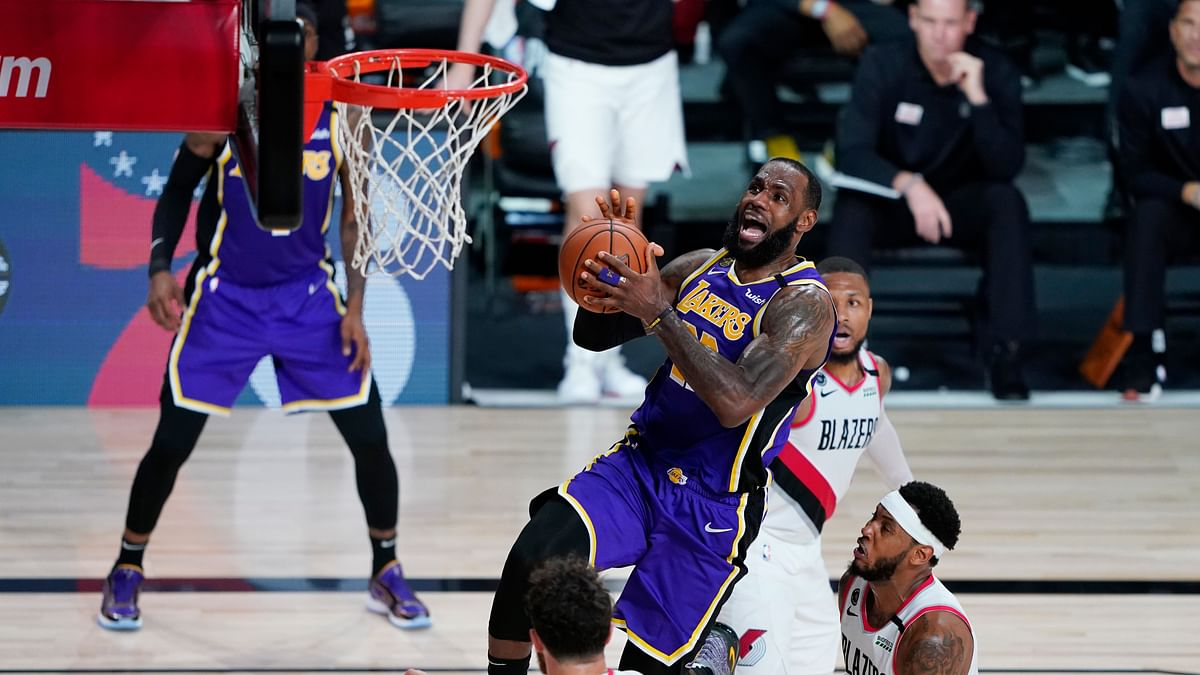 NBA Playoff Picks: Greg Frank looks at the over/under for Los Angeles Lakers vs Portland Trail Blazers