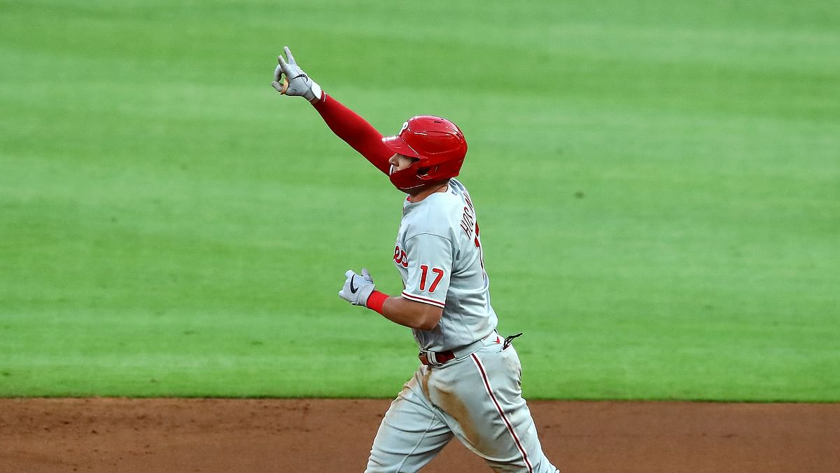 BoopProps Tuesday MLB: Rhys Hoskins is getting hot, Bryce Harper hits the Nats and the Phillies need a win
