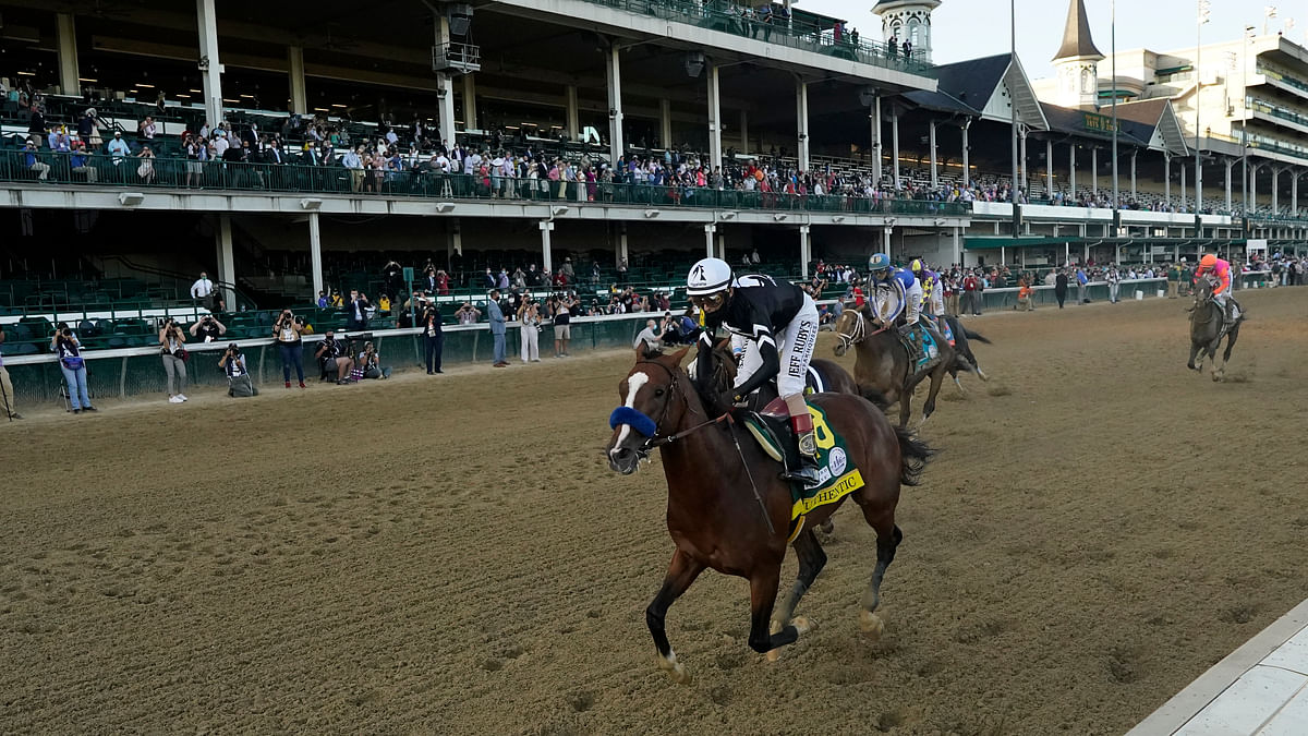 Authentic wins Kentucky Derby, gives Bob Baffert tying 6th victory