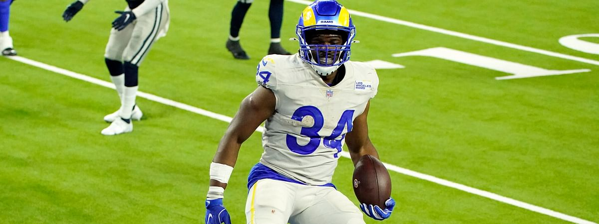 Running back Malcolm Brown and the Rams capped off the 23rd Sports Equinox Day with a 20-17 victory over the Cowboys Sunday