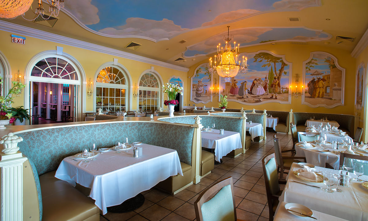 Capriccio, the old-school Italian room at Resorts Casino-Hotel, won the #1 ranking in the USA TODAY poll for the nation's best place for casino dining