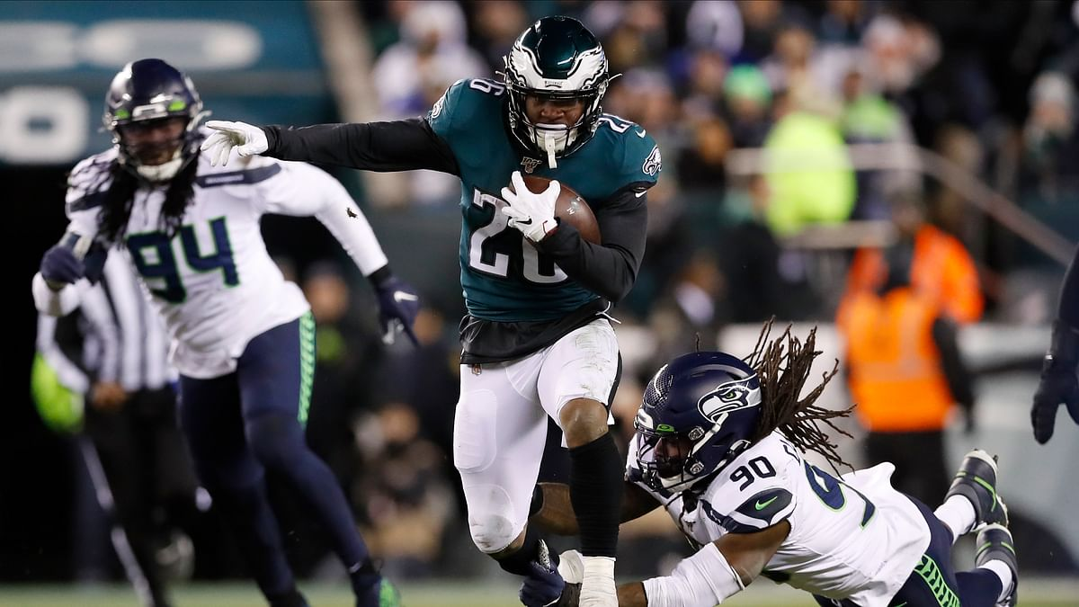 Eagles running back Miles Sanders among NFL's rising stars