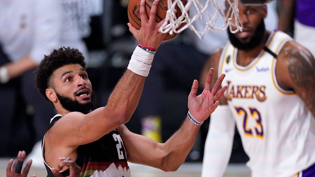 Jamal Murray, Nuggets hang on in Game 3, cut Lakers' lead to 2-1 with 114-106 victory in NBA Conference finals