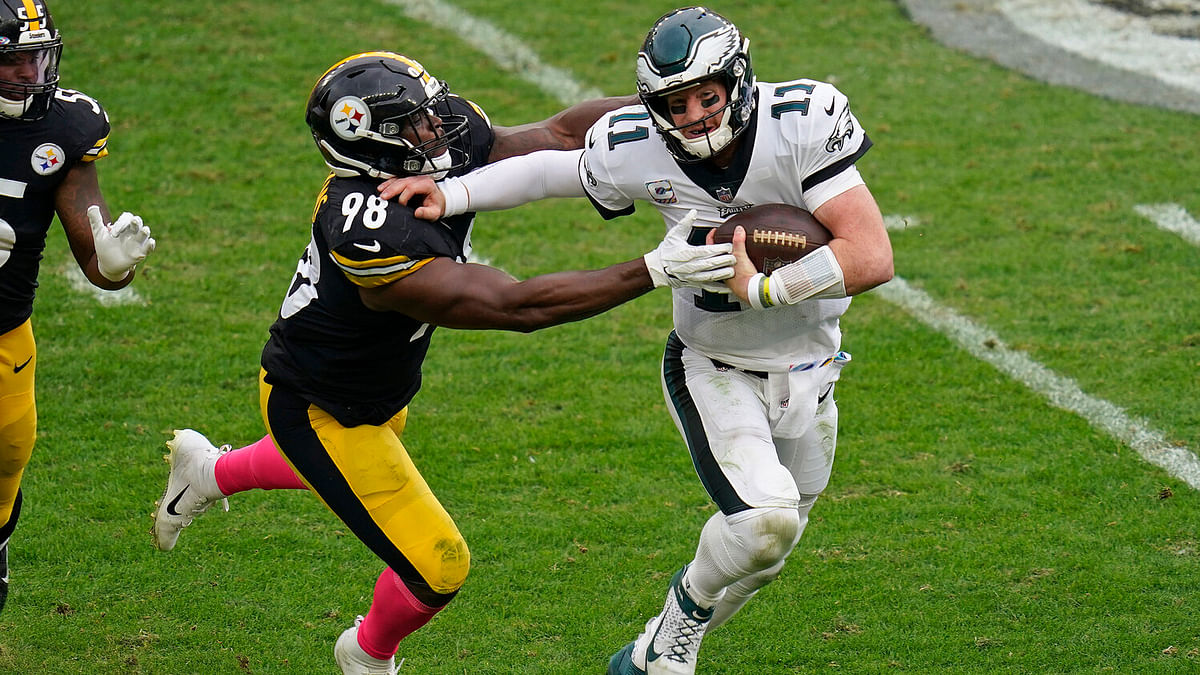 BoopProps Thursday NFL - Eagles vs. Giants: It is all on the shoulders (and arms and legs) of Carson Wentz
