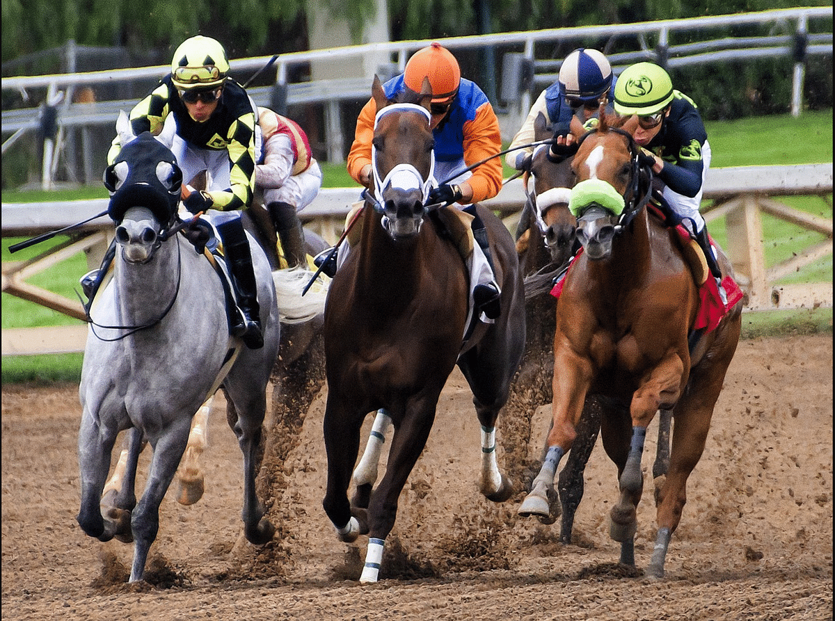 Racetracks are getting into the sportsbook business.