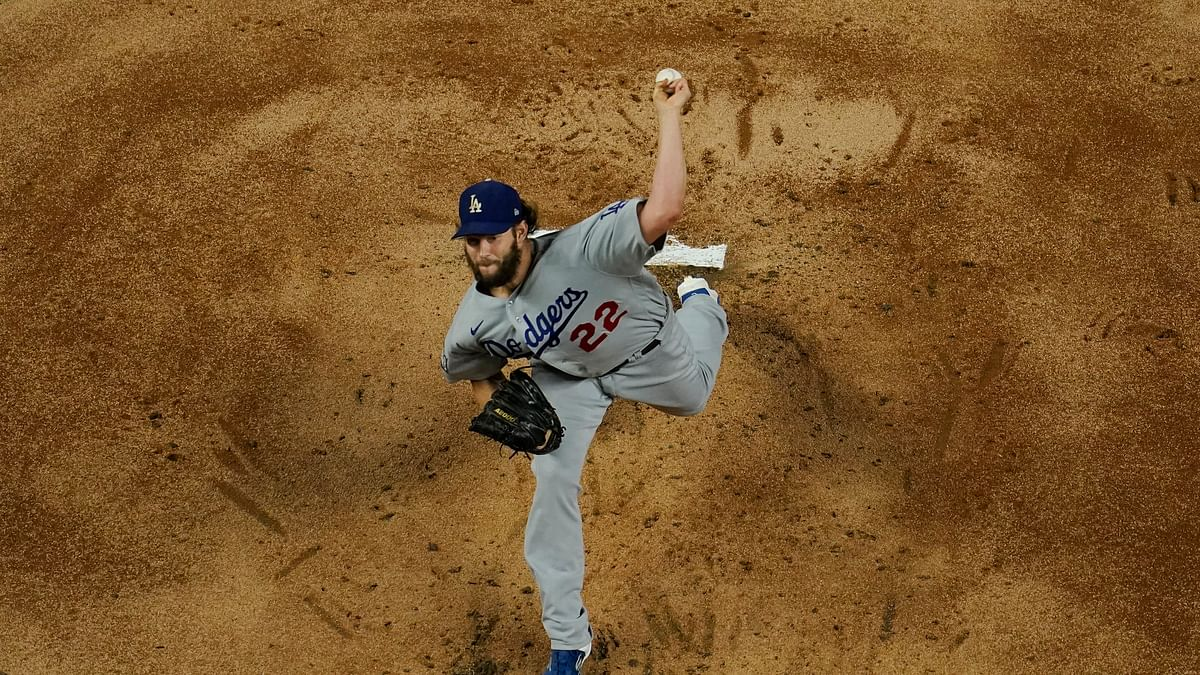 Clayton Kershaw stops steal of home, hands Dodgers 3-2 Series lead over Rays