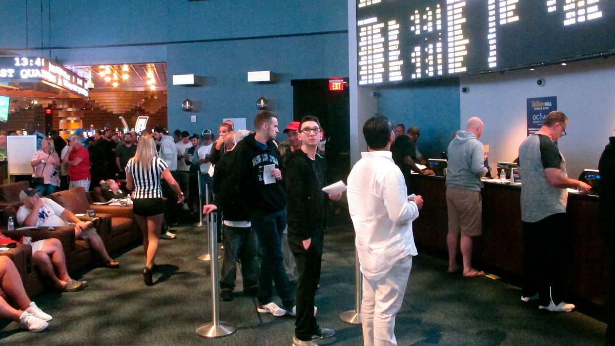 New Jersey shatters its own sports betting record: $748M bet in September