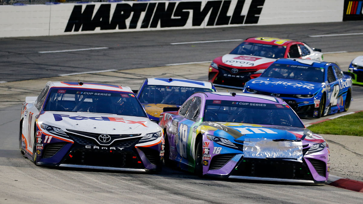 "Mark Eckel and the ""The Eckel 4"" pick Sunday's penultimate NASCAR Cup race in Martinsville — The Xfinity 500"