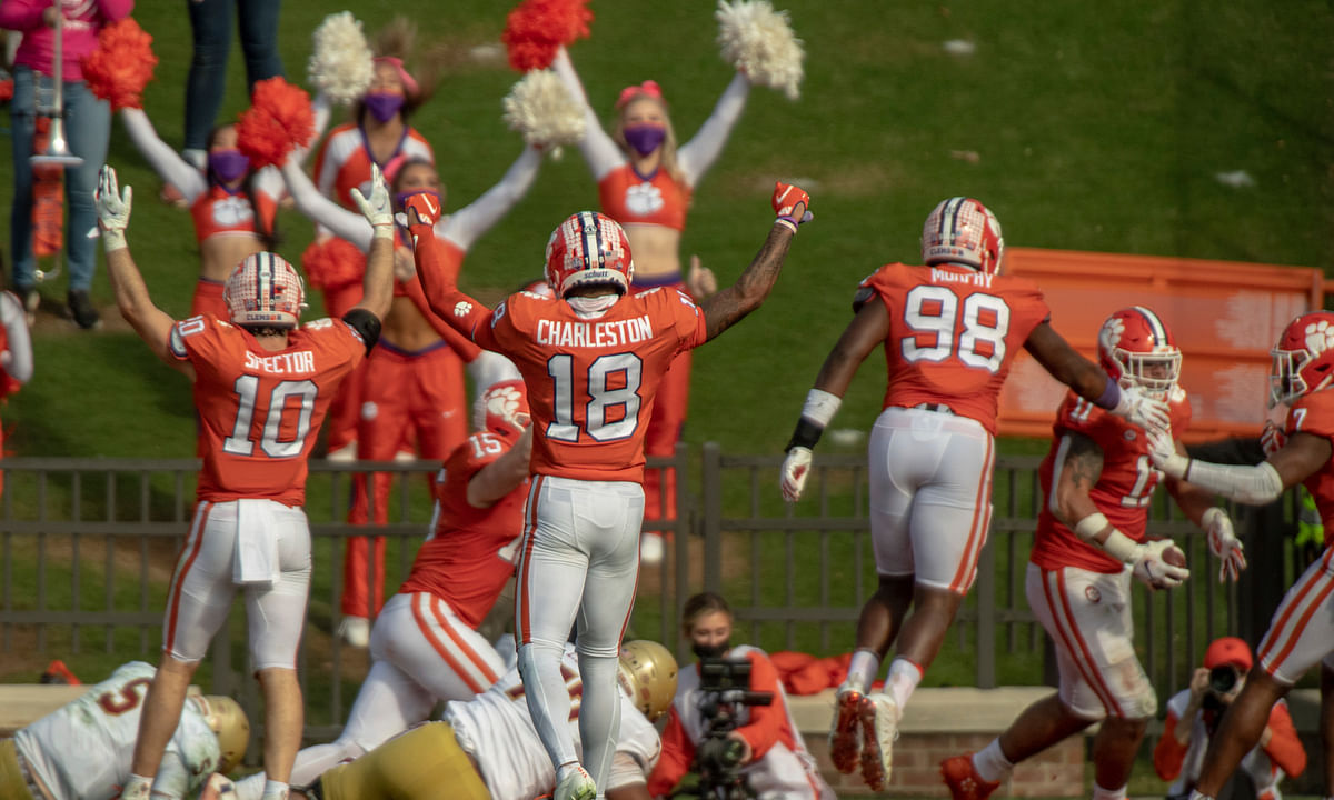 AP College Football Top 25 Reality Check: Clemson, Alabama close to rare tie; Notre Dame in fourth