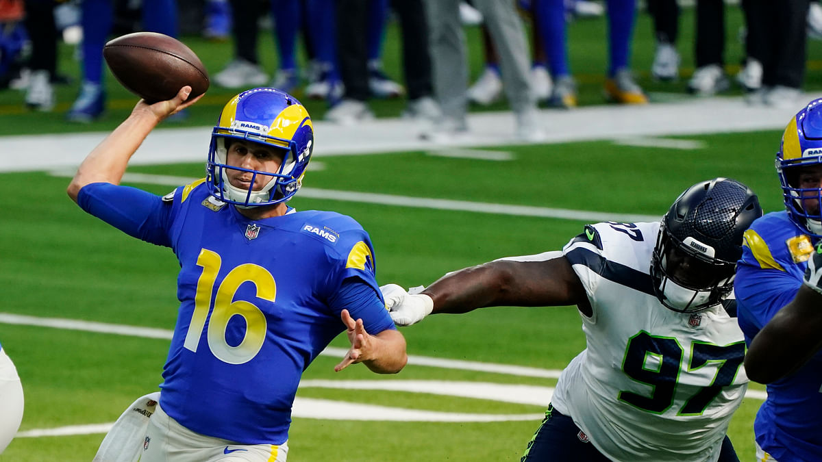 Jared Hackmyer picks the Monday Night Football matchup: Tampa Bay Buccaneers vs Los Angeles Rams
