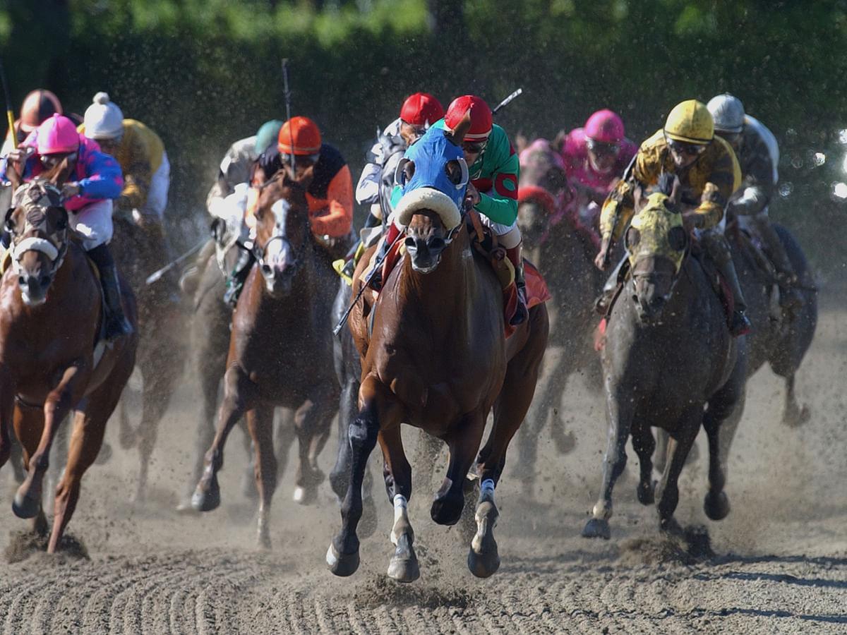 Friday Dad's Hat Happy Hour Horse Racing has Garrity picks at Churchill Downs, Belmont, Monmouth, Santa Anita