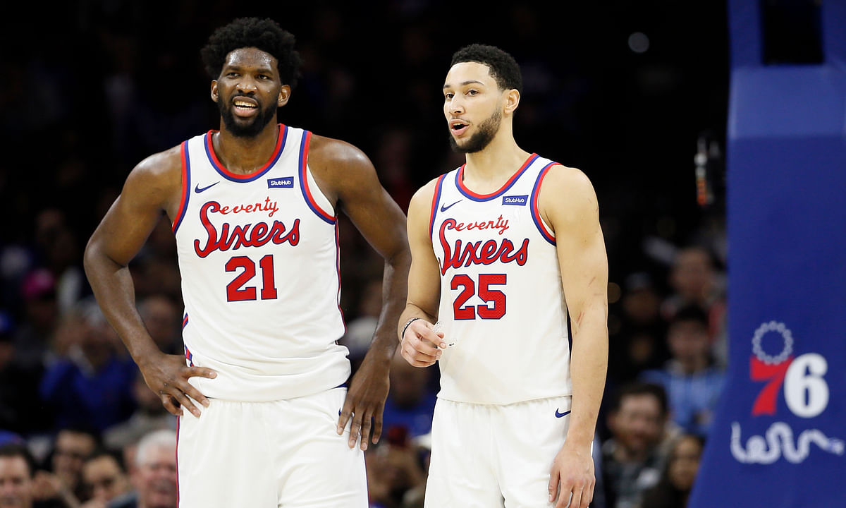 Joel Embiid and Ben Simmons have been rolling for the 76ers,