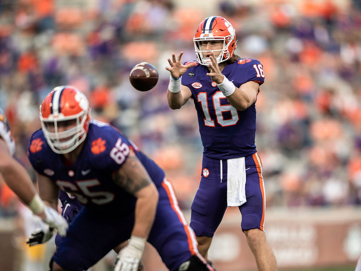 Clemson quarterback Trevor Lawrence is expected to be the NFL draft's No. 1 pick.
