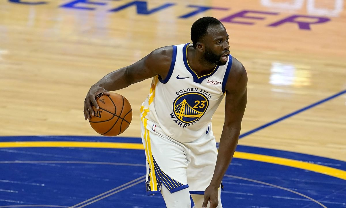 Golden State Warriors forward Draymond Green (23) faces the Mavericks tonight.