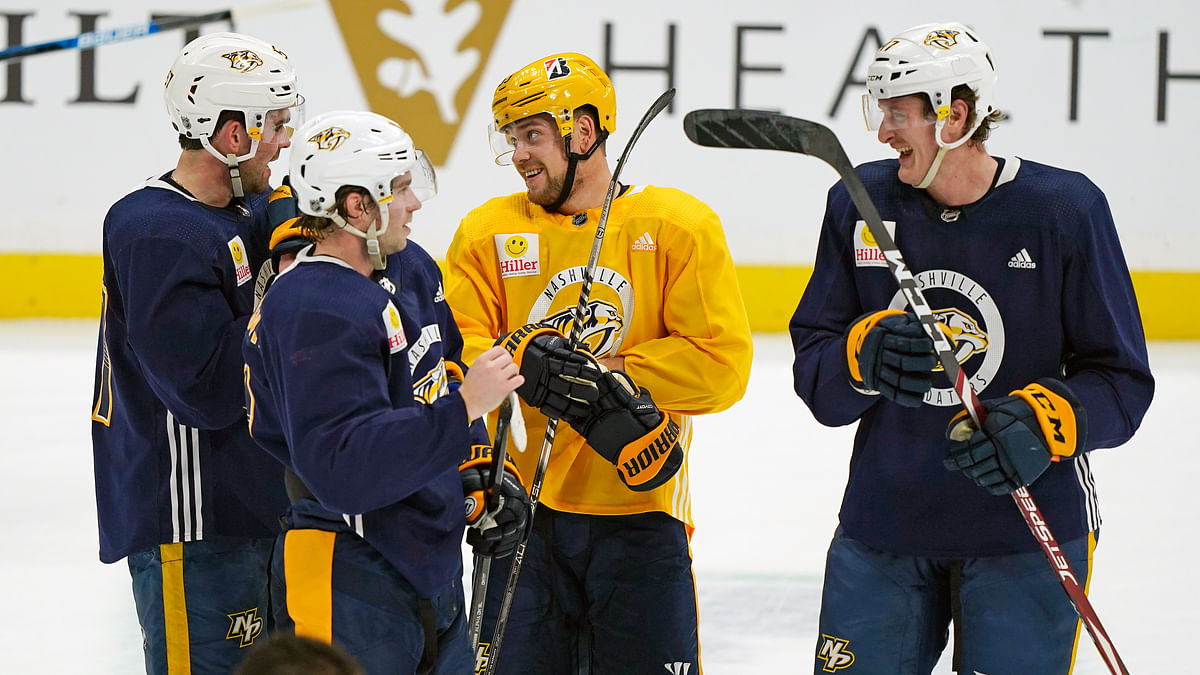 Bet the NHL Wednesday: Boop's prop bet picks are on the Predators and Viktor Arvidsson