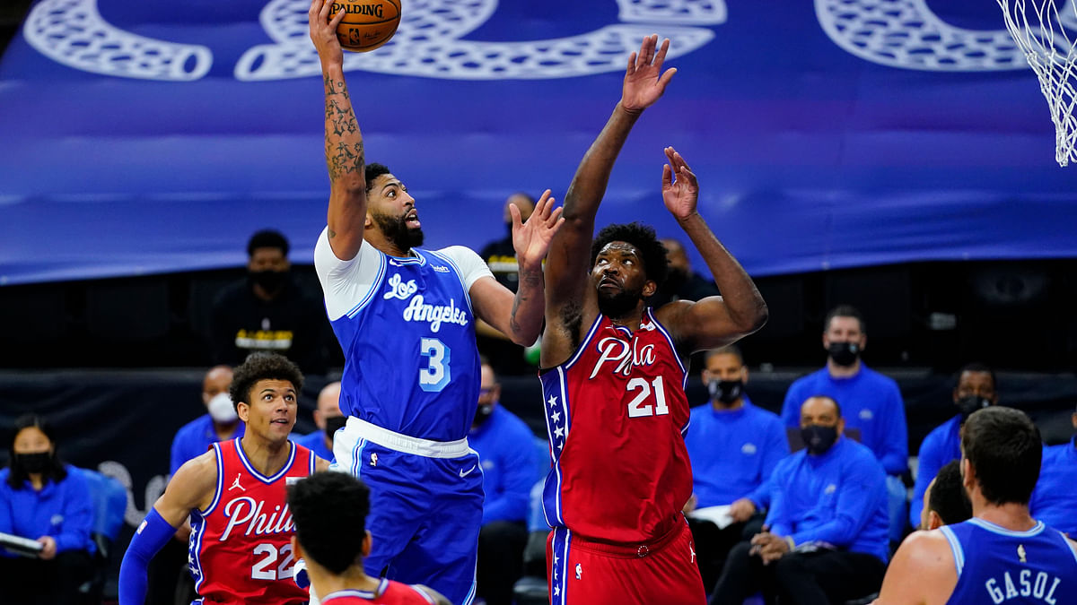 Was this a preview of the NBA Finals? Tobias Harris hits clutch shot to lead 76ers past Lakers 107-106