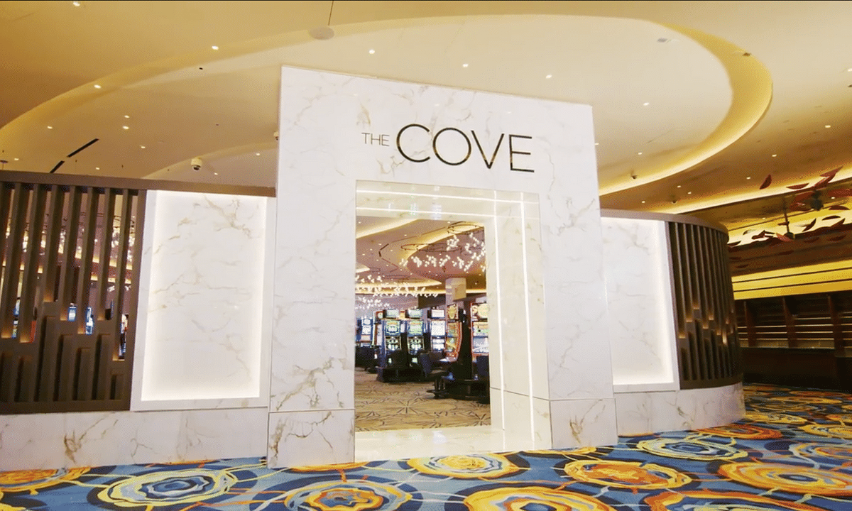 The Cove, a new high-limit slots lounge at The Ocean Casino Resort