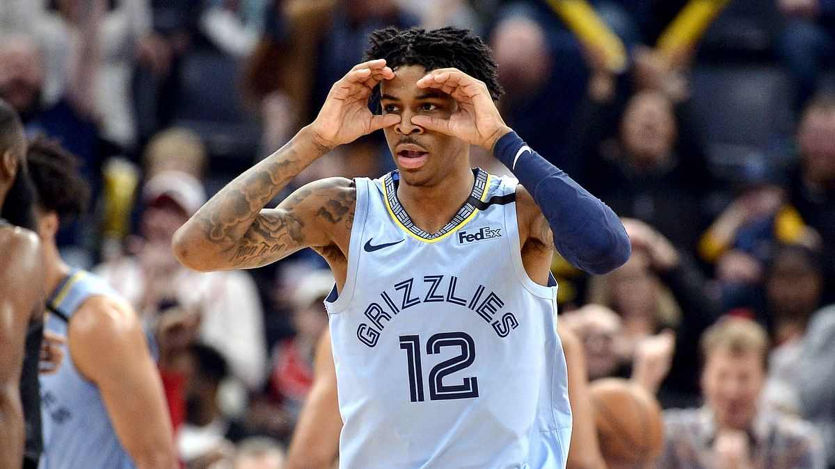 Memphis Grizzlies guard Ja Morant can see Fats has been on a roll.