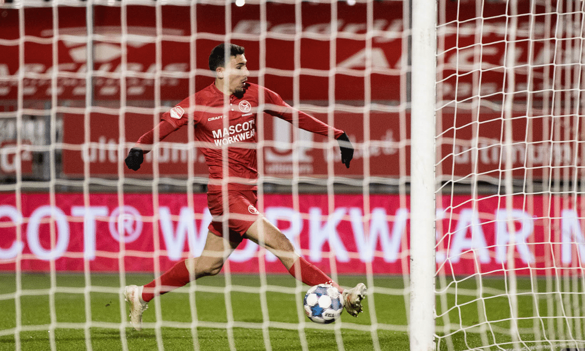 Almere City in action.